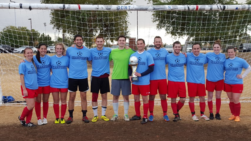 2015 Holiday Soccer Cup Champion (Small)